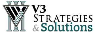 V3 Strategies and Solutions Logo